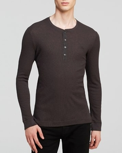 Carlisle Henley Shirt by Burberry Brit in That Awkward Moment