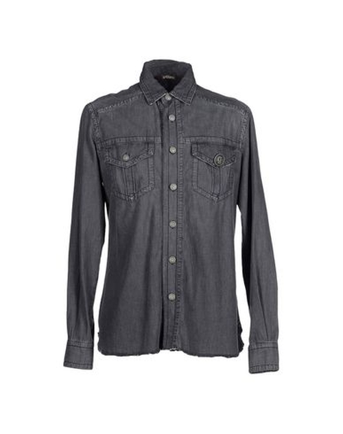 Denim Shirt by Galliano in Knock Knock