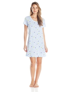 Women's Cotton Floral-Printed Sleepshirt by Carole Hochman in Sisters