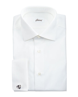 Micro Striped Dress Shirt by Brioni in Suits