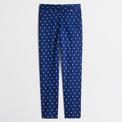 Factory Polka Dot Skimmer Pant by J. Crew in Pitch Perfect 2