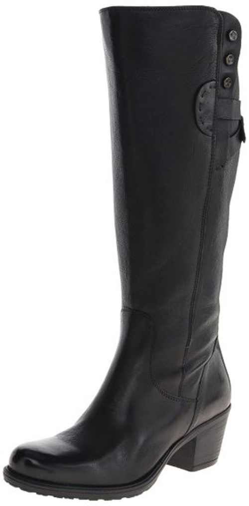 Maymie Stellar Riding Boots by Clarks in Barely Lethal