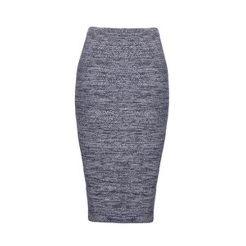 Morena Herringbone Long Pencil Skirt by Alice + Olivia in How To Get Away With Murder - Season 2 Episode 11