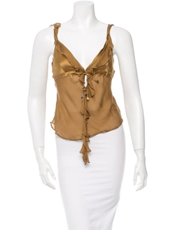Sleeveless Top by Roberto Cavalli in Suits