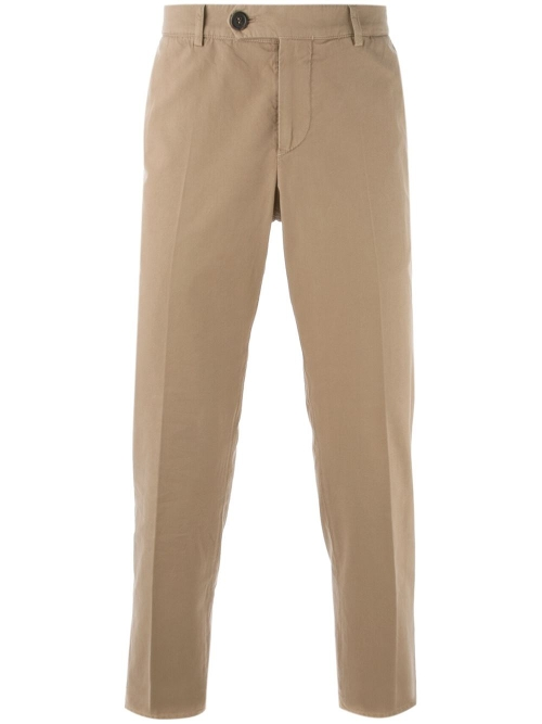 Straight Fit Chino Trousers by Brunello Cucinelli in The Gift