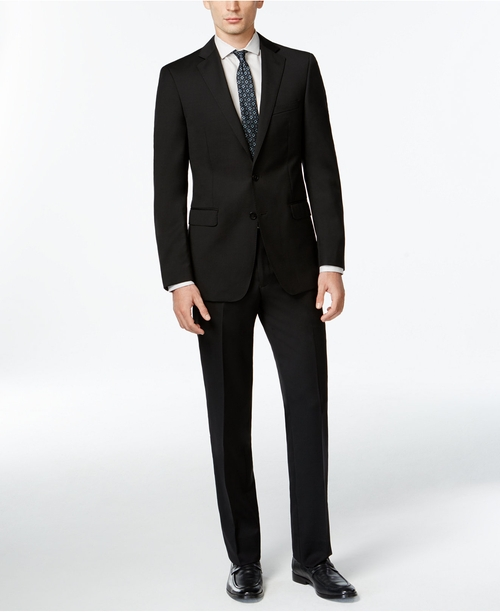 Wool Slim X Fit Suit by Calvin Klein in The Good Wife - Season 7 Episode 4