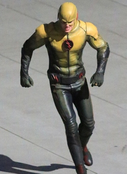 Custom Made 'Reverse Flash' Costume by Kate Main (Costume Designer) in The Flash