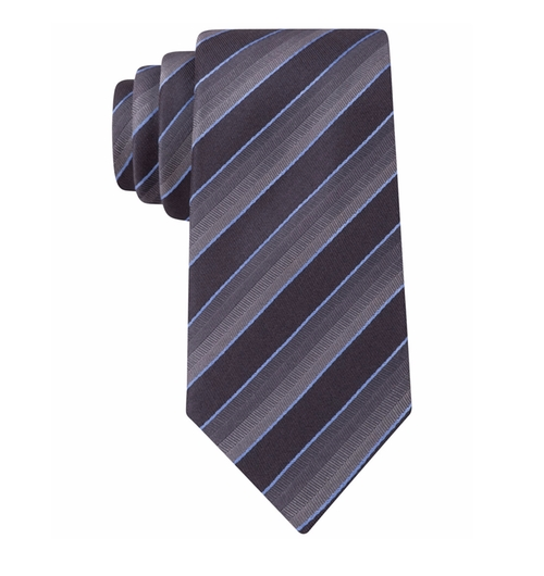 Men's Velluti Stripe Slim Tie by Kenneth Cole Reaction in Jack Reacher