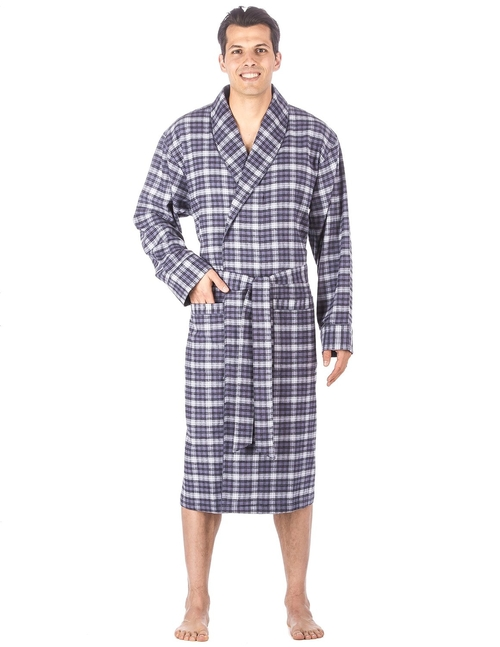 Cotton Flannel Robe by Noble Mount in The Big Bang Theory - Season 9 Episode 13