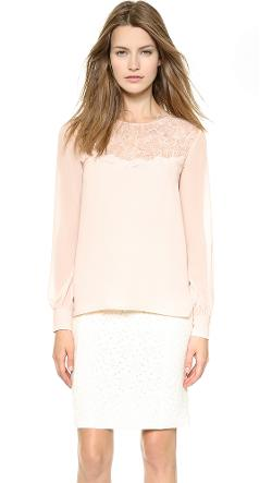 Long Sleeve Blouse by Nina Ricci in Mortdecai
