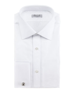 French-Cuff Dress Shirt by Charvet	 in Demolition