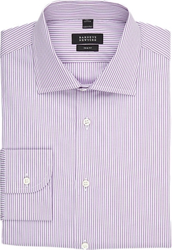 Shadow-Stripe Poplin Shirt by Barneys New York in The Good Wife