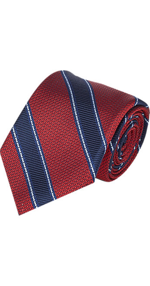Stripe Jacquard Tie by Fairfax in Southpaw