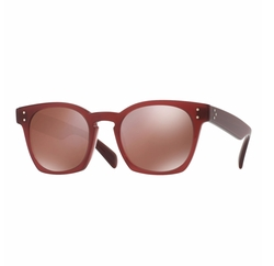 Byredo Square Mirrored Sunglasses by Oliver Peoples in Empire