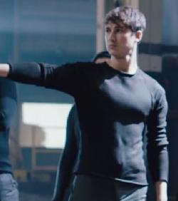 Custom Made Male 'Dauntless'' Sweater by Carlo Poggioli (Costume Designer) in Divergent