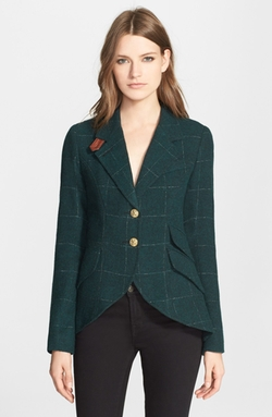 Wool Blend Hunting Jacket by Smythe in Arrow