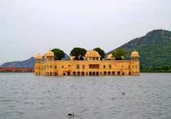 Jaipur, India by Jal Mahal in The Second Best Exotic Marigold Hotel