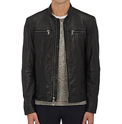 Leather Zip-Front Jacket by John Varvatos Star U.S.A. in Shadowhunters