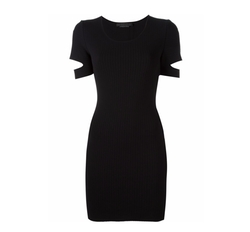 Slit Sleeve Knit Dress by Alexander Wang in Shadowhunters