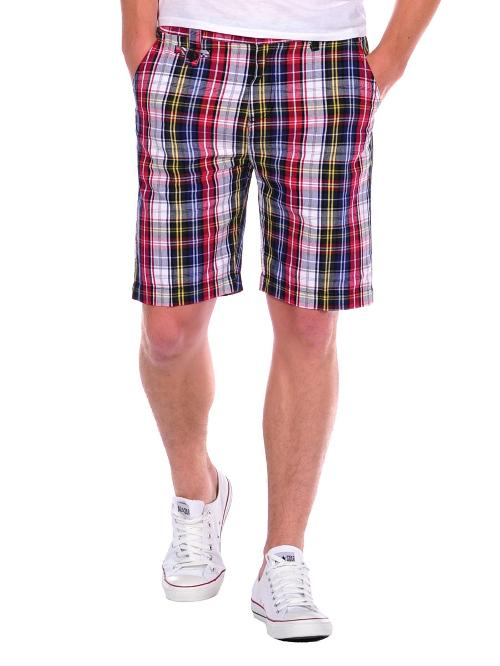 Monk Plaid Shorts by Civil Society in And So It Goes