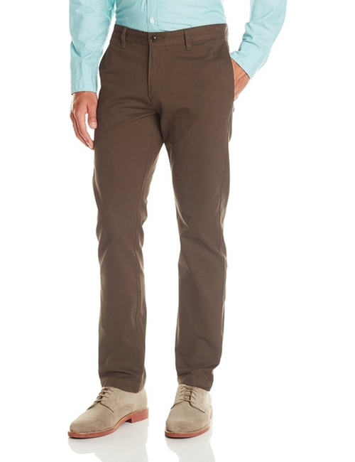 Modern Flat Front Pants by Dockers in Krampus