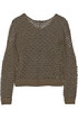 Kylo Open Knit Sweater by Theyskens' Theory in Project Almanac