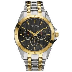 Sport Classic Two Tone Watch by Bulova in Suits