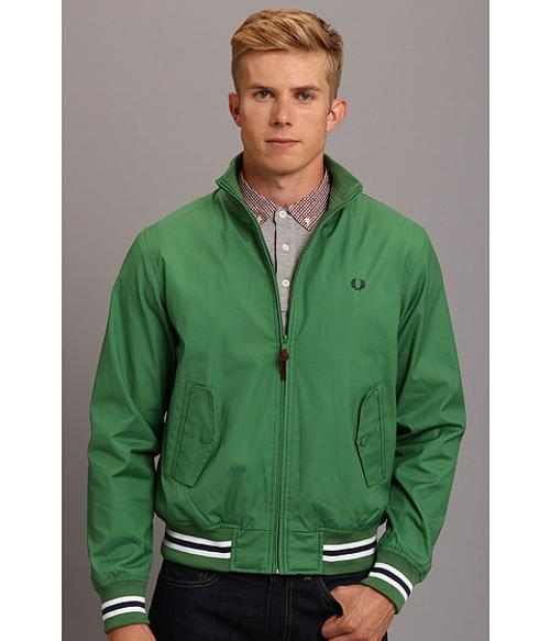 Waxed Cotton Tipped Bomber by Fred Perry in Step Up: All In