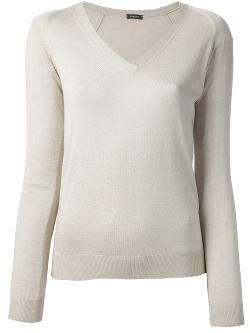 V-Neck Sweater by Zanone in Yves Saint Laurent