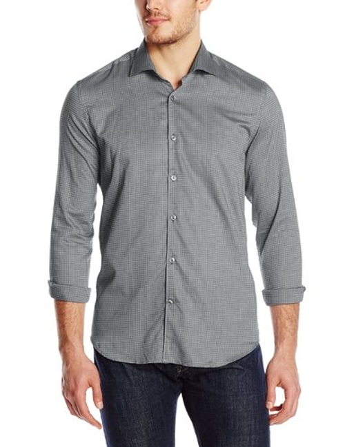 Men's Gingham Shirt by Stone Rose in Fast Five