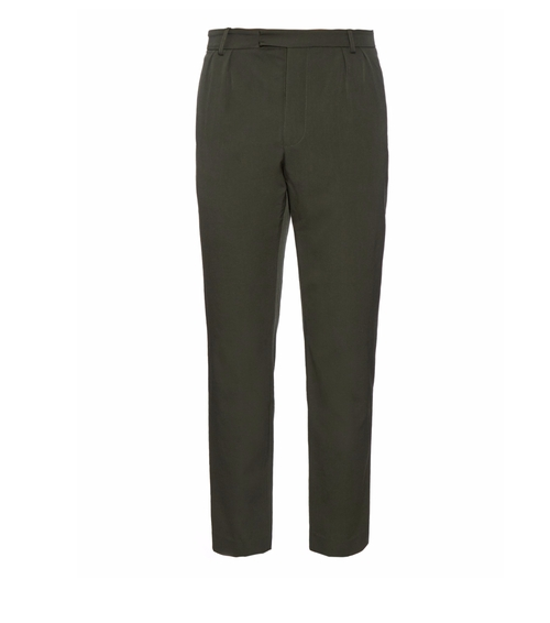 Japanese Wool-Twill Trousers by Orley in The Intern