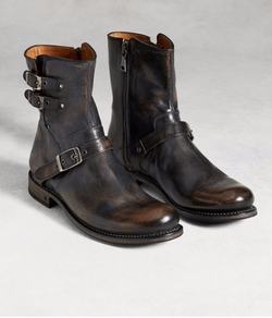 Engineer Moto Boots by John Varvatos in Shadowhunters