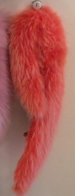 Raccoon Fur Convertible Collar Scarf by Ruti Horn in Scream Queens