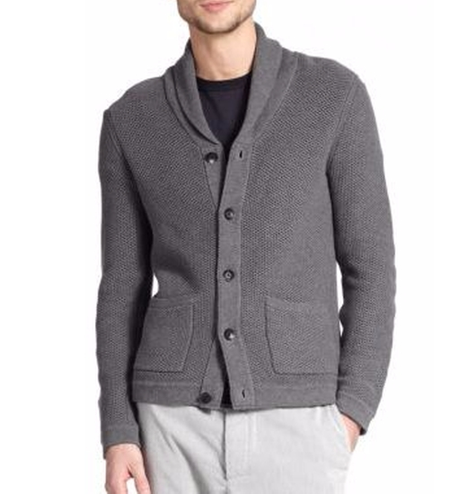 Avery Waffle-Stitch Cardigan by Rag & Bone in Collateral Beauty