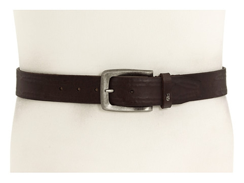 38mm Strap with Leather Covered Hand Stitch Belt by John Varvatos in Crazy, Stupid, Love.