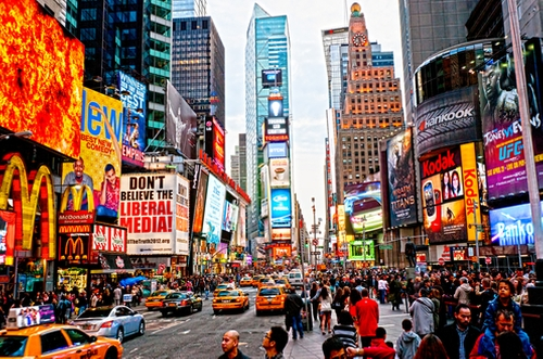 Times Square New York City, New York in Sully
