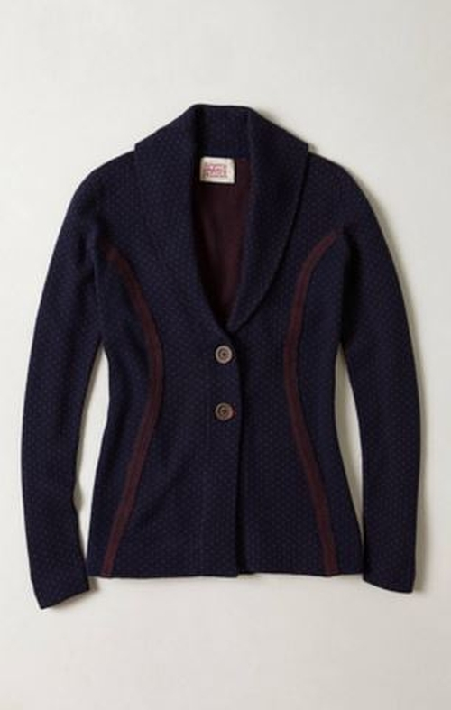 Jacquard Sweater Jacket by Anthropologie Rosie Neira in If I Stay