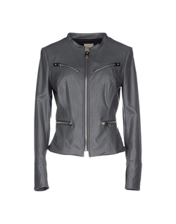 Leather Jacket by Mem.JS in Rosewood