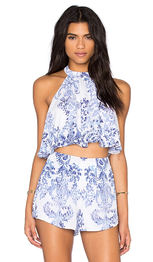 Mateo Tie Back Top by Show Me Your Mumu in The Bachelorette - Season 12 Episode 9