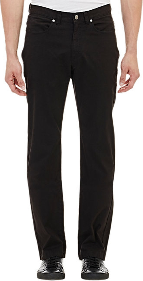 Brushed Five-Pocket Chinos by Piattelli in Ricki and the Flash