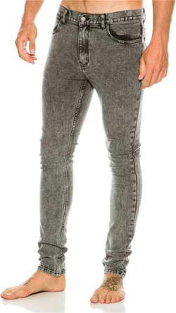 Men's Skinny Fit Jeans by Afends Junky Jeans in The Big Bang Theory