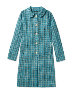 Peter Pan Collar Coat by Salvador Perez in The Mindy Project