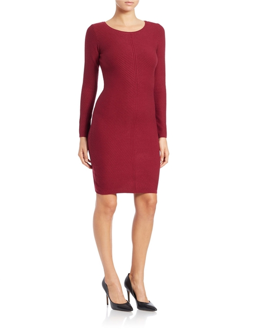 Ribbed Knit Sheath Dress by Marc New York Andrew Marc in Quantico - Season 1 Episode 5