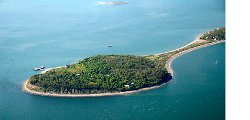 Hull, Massachusetts by Peddocks Island in Shutter Island