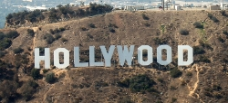 Los Angeles, California by The Hollywood Sign in Entourage