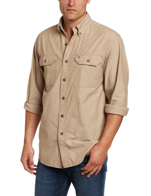 Chambray Button Front Shirt by Carhartt in The Big Bang Theory - Season 9 Episode 12