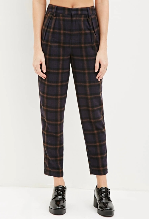 Tartan Plaid Trousers by Forever 21 in Scream Queens - Season 1 Episode 12