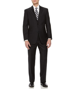 Two-Piece Wool Suit by Hickey Freeman in Hot Pursuit