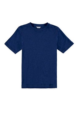 Kids Slub Knit Crew Neck T-Shirt by Forever21 in Max