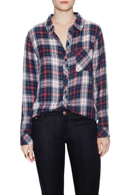 Plaid Shirt by Rails  in New Girl - Season 5 Episode 9